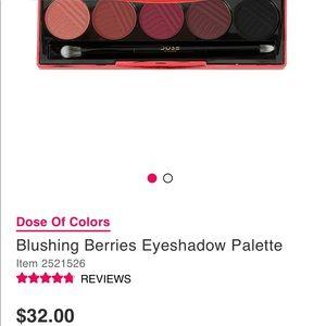 Dose of Colors Blushing Berries: Eyeshadow Palette